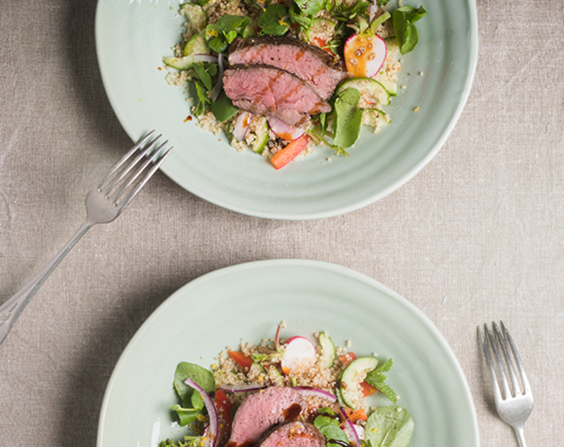 Coastal Lamb Quinoa Salad