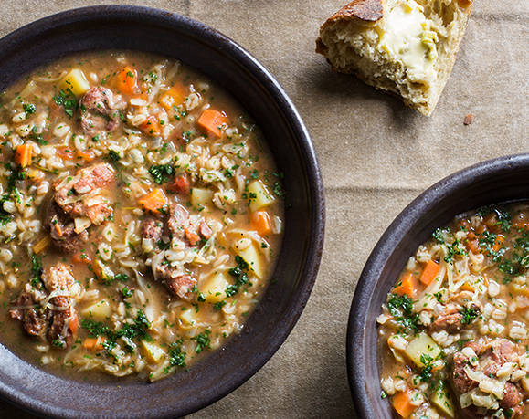 Coastal Lamb & Barley Soup