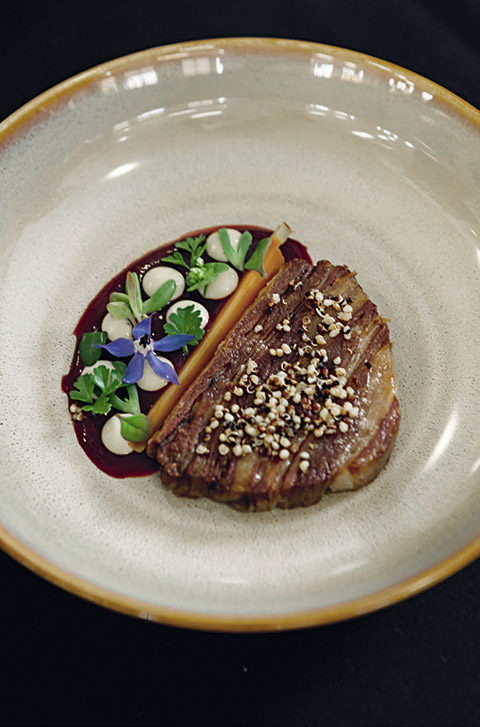 Joshua Ross Coastal Lamb dish